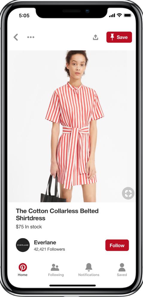 Pinterest Shopping