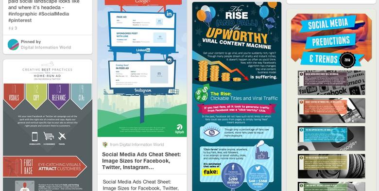 Social Media Tips Pin