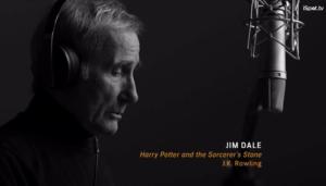 "HP narrator Jim Dale ""conjuring"" ""evil"" ""spirits"""