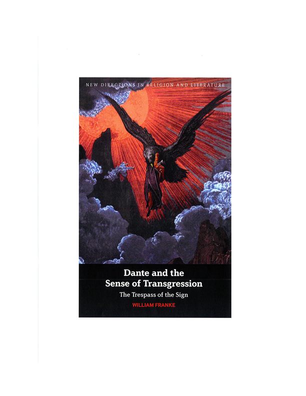 Dante and the Sense of Transgression - cover jpeg