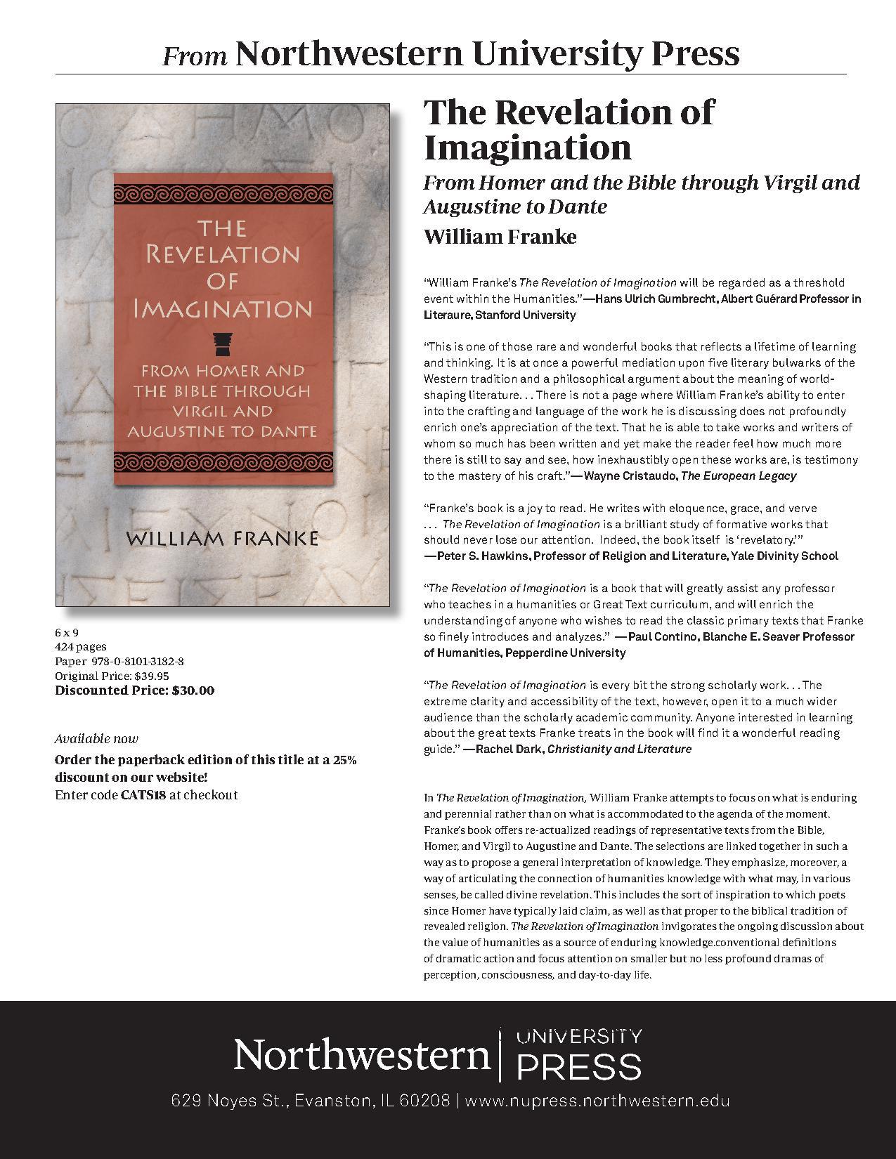 Revelation of Imagination flyer