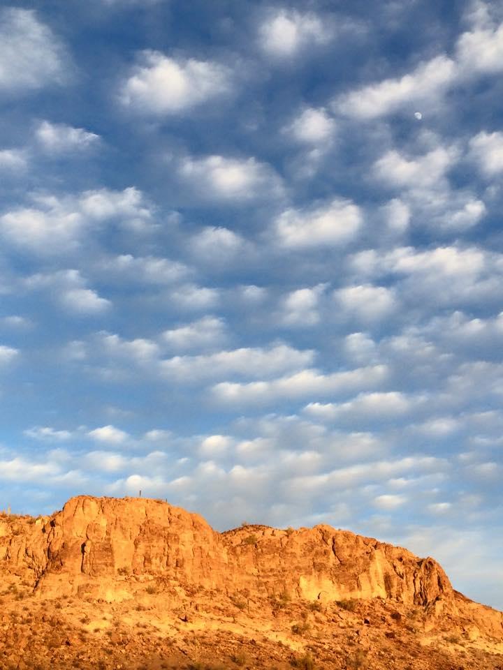 Sky over Black Mtns
