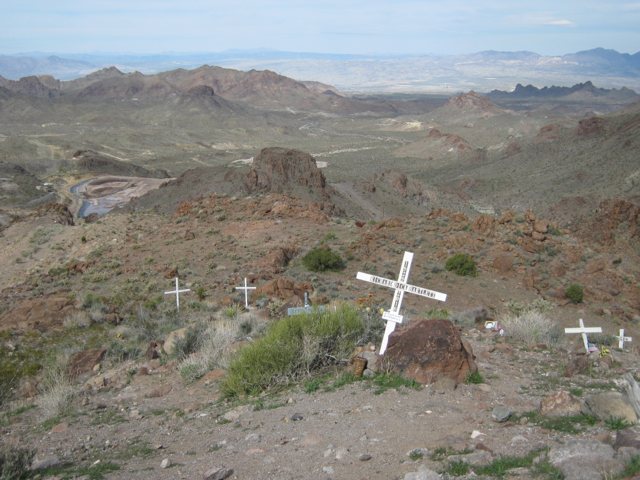 View from Sitgreaves Pass into Silver Creek Caldera