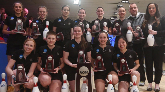 The Vanderbilt bowling team is the 2019 national runner-up, after falling short to Stephen F. Austin State University in the NCAA championship April 13.