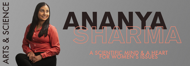 Ananya Sharma: A Scientific Mind and a Heart for Women's Issues