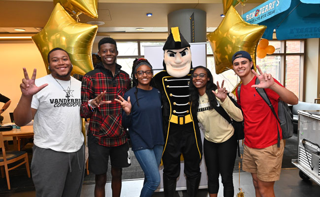 More than 8,200 members of the Vanderbilt community, including alumni, parents, faculty, staff, students and friends, came together on April 4 to raise over $9.4 million in support of the university's mission. (photo by Peyton Hoge)