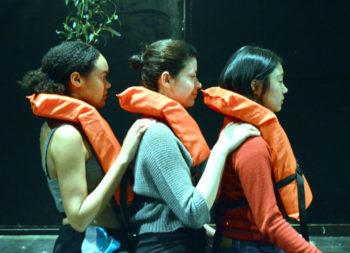 cast members of VU Theatre production