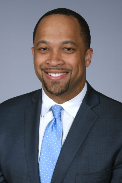 Alfred Degrafinreid II, associate vice chancellor for community relations