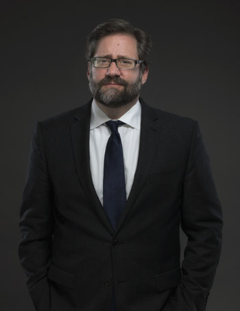 studio photo of Jon Peede, chair of National Endowment for the Humanities