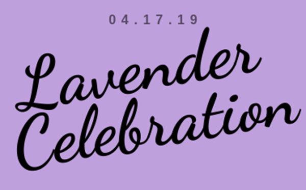 Lavender Celebration 2019 logo