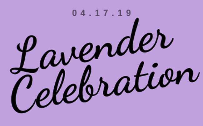 Lavender Celebration 2019 logo