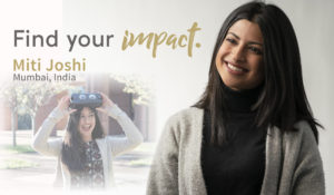 Find Your Impact: Student empowers women through tech