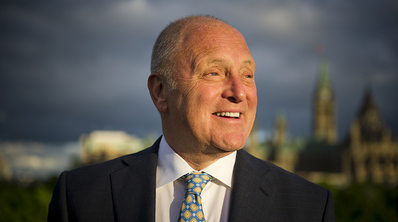 Ambassador Bruce Heyman in Ottawa, Canada, Monday June 4, 2018. Photo by Ashley Fraser