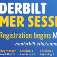Summer Sessions at Vanderbilt poster