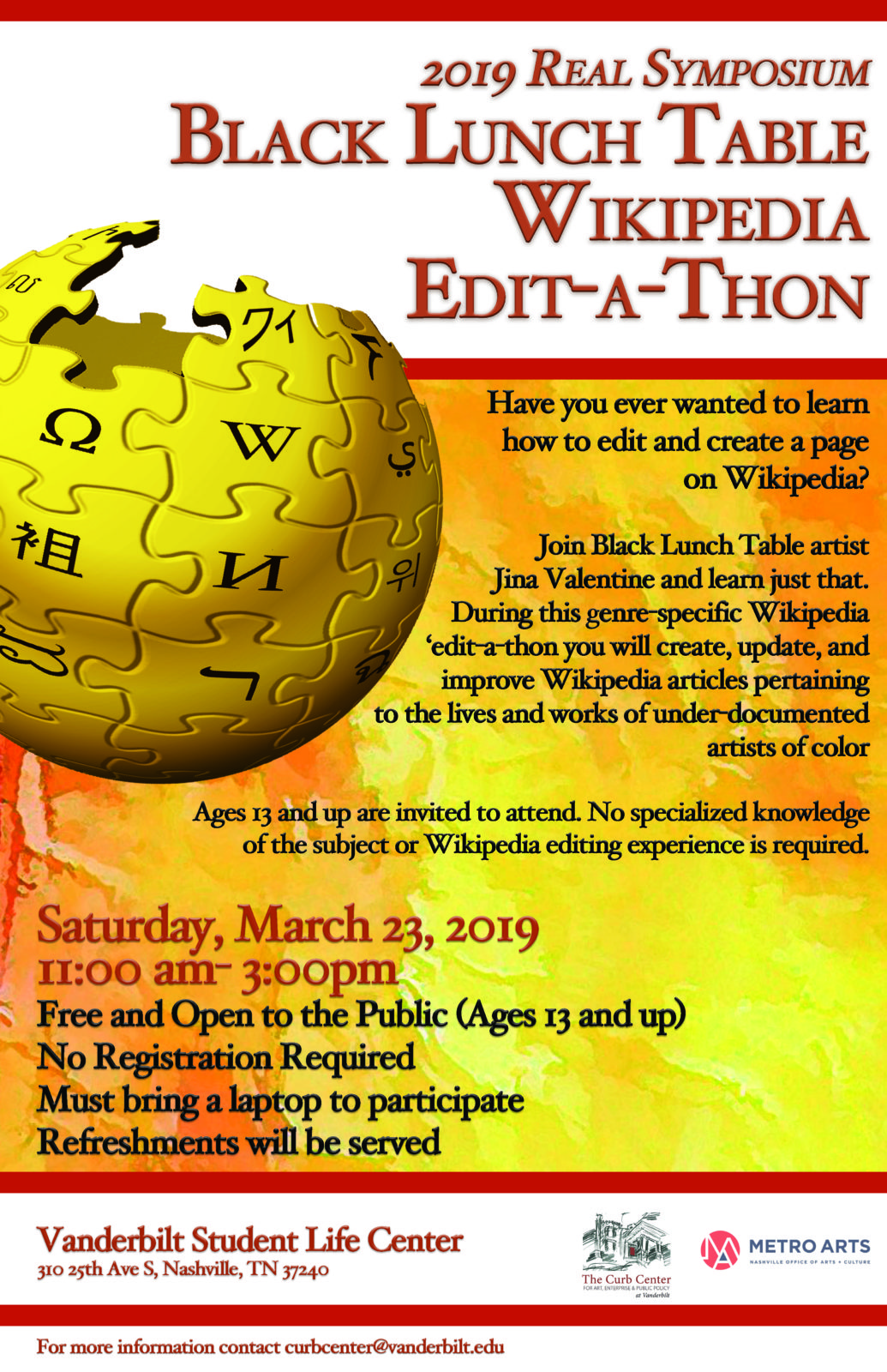 Wikithon Flyer