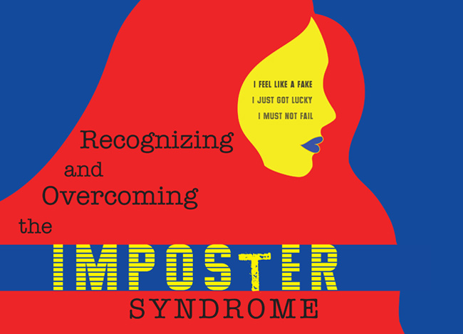 """Recognizing and Overcoming Imposter Syndrome"" March 26 poster"