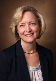 studio headshot of Vanderbilt University Provost Susan Wente