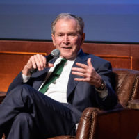 President George W. Bush (Joe Howell/Vanderbilt)