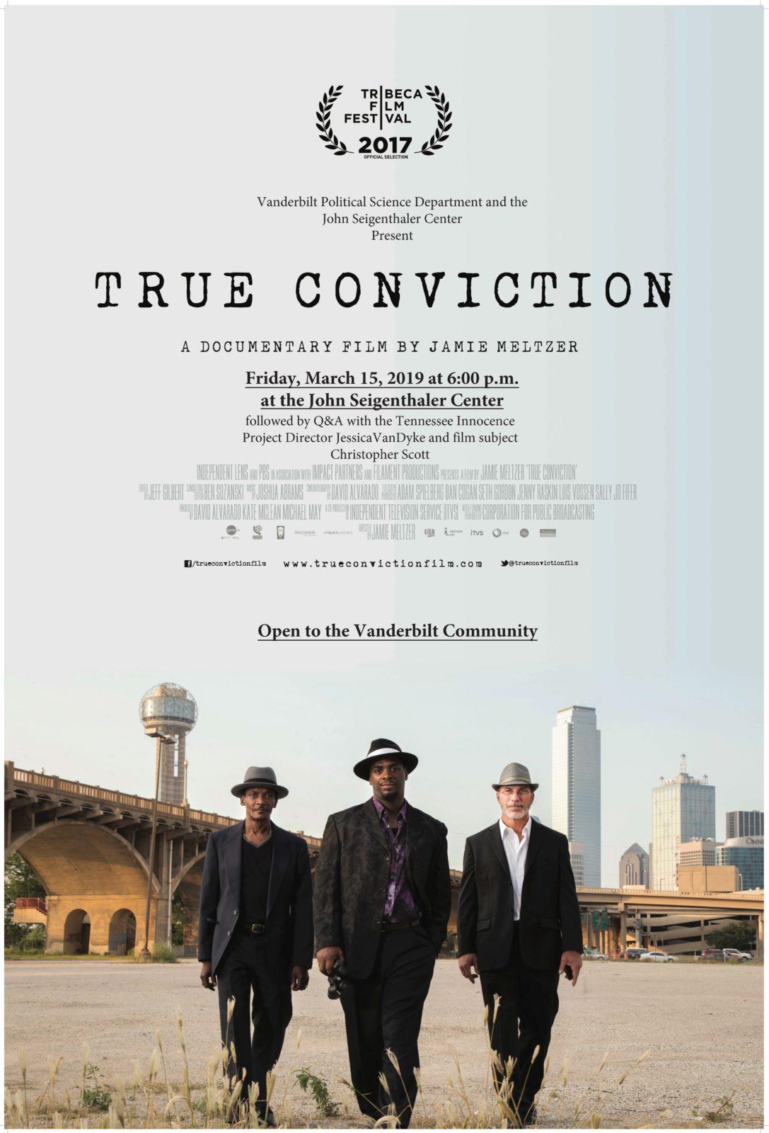True Conviction Flyer