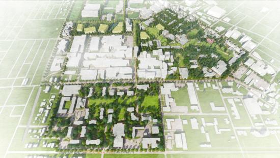 Peabody Aerial campus