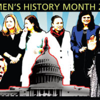 Women's History Month 2019 composite art