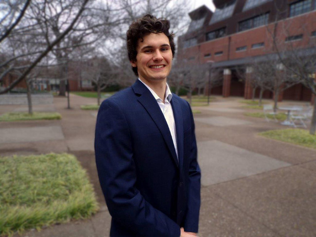 Vanderbilt senior Connor Morency has been named a Luce Scholar for 2019-2020.