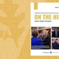 """""""ON THE HILL"""" Issue 2 cover"""