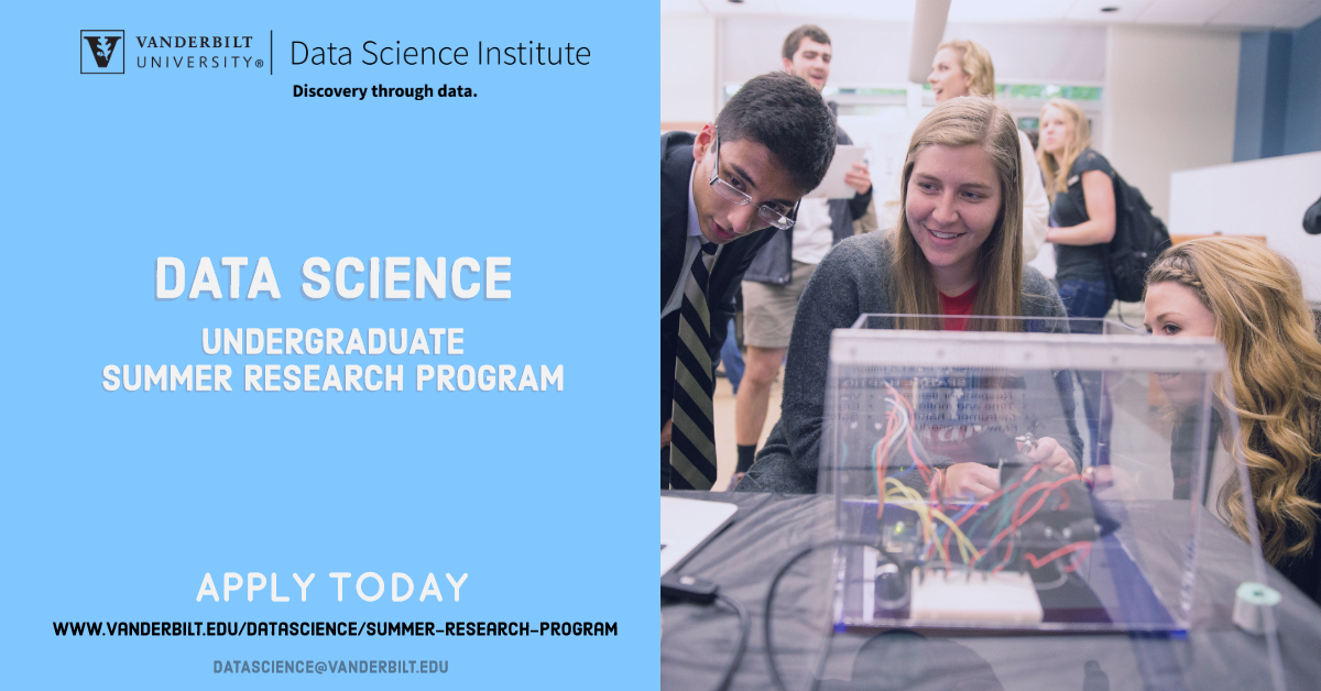 Featured image of data science institute call for summer fellows