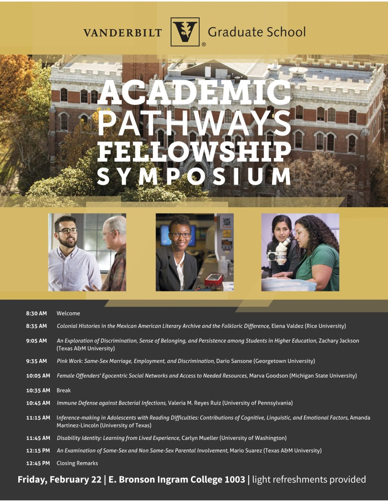 Academic Pathways 2019 Flier