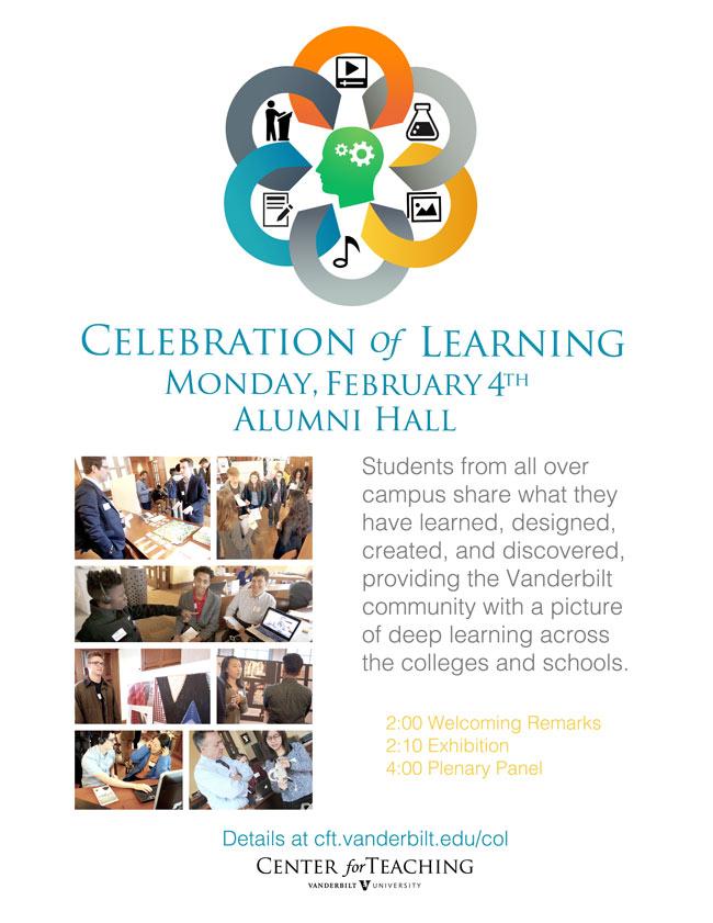Center for Teaching Celebration of Learning 2019 poster