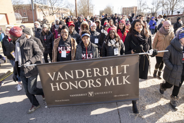 Nashville Freedom March (Joe Howell/Vanderbilt)
