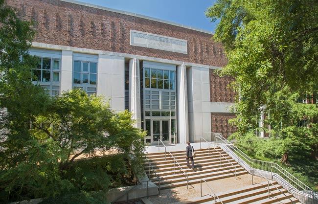 Vanderbilt Law School (photo by John Russell/Vanderbilt)