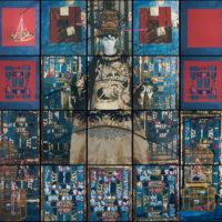 Polaroid prints each mounted on aluminum, by Maria Magadelena Campos-Pons