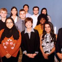 The first-year cohort of the A. James Clark Scholars for 2018-19. (Vanderbilt University)