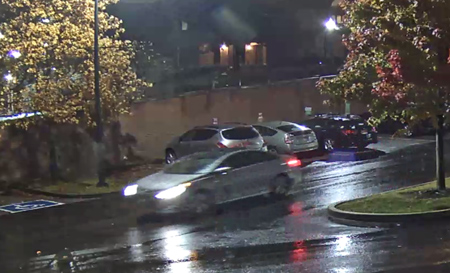 Vehicle suspected in hit-and-run incident on Nov. 13.