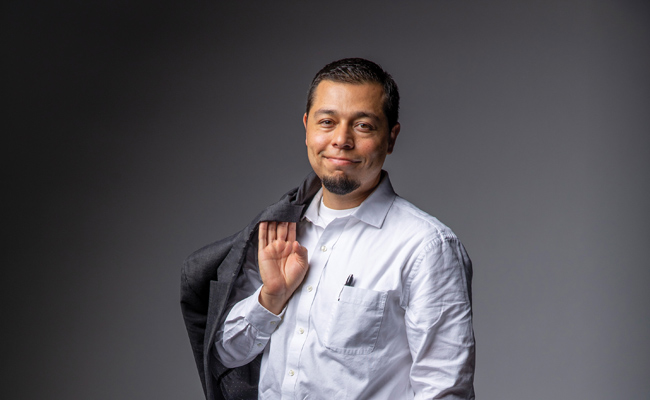 Jesus Gomez-Velez, assistant professor of civil and environmental engineering (John Russell/Vanderbilt)