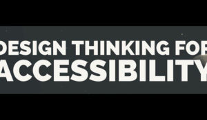 'Design Thinking for Accessibility' boot camp at Wond'ry Nov. 10