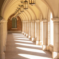 Architectural detail at E. Bronson Ingram College (John Russell/Vanderbilt)