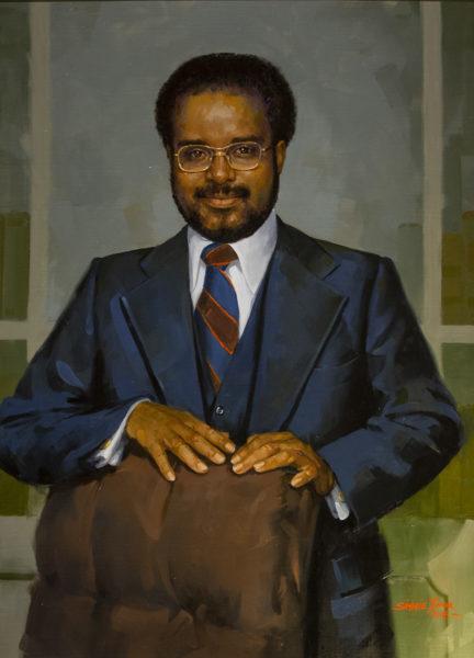 Portrait of the Rev. Walter R. Murray Jr. (Joe Howell/Vanderbilt)