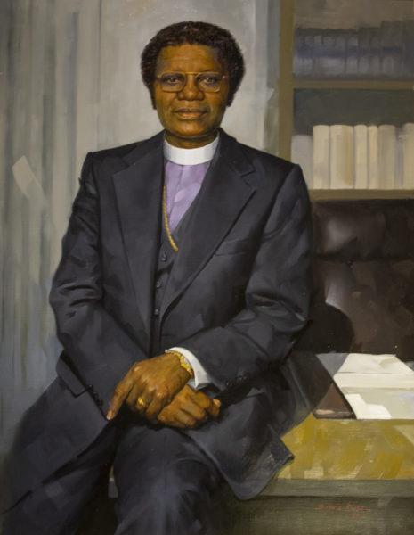 Portrait of Bishop Joseph Johnson (Joe Howell/Vanderbilt)