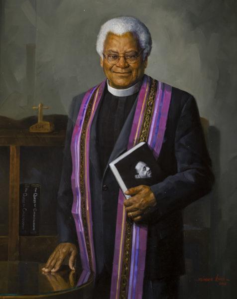Portrait of the Rev. James Lawson (Joe Howell/Vanderbilt)