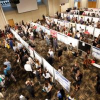 The fifth annual Undergraduate Research Fair was held Sept. 27 at the Student Life Center. (Vanderbilt University)