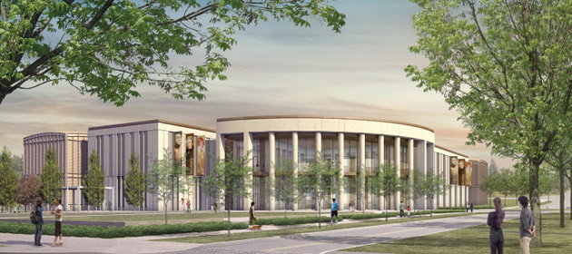 A rendering of the new Tennessee State Museum