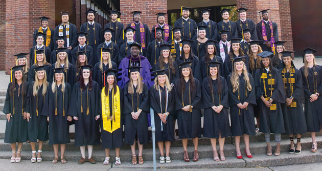Student-athletes in the Vanderbilt Class of 2018. (Vanderbilt University)