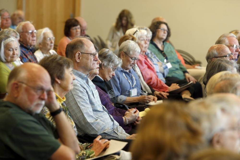 Vanderbilt's Osher Lifelong Learning classes strive to be academically stimulating without the pressure of grades or homework (Steve Green/Vanderbilt University)
