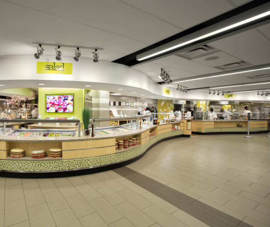 Rand Dining Center has increased its healthy menu options (Vanderbilt University)