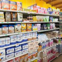 grocery store aisle - baking aisle