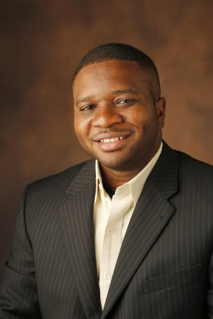 Assistant Professor of Electrical Engineering Justus Ndukaife (Steve Green/Vanderbilt University)