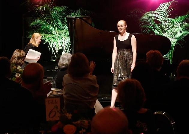Lauren Urquhart, a Blair School graduating senior, was a first-place winner in the voice category of the Music Teachers National Association competition. (Steve Green/Vanderbilt)