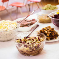Southern Christian churches place a high priority on hospitality, including delicious food, for members and visitors. (iStockphoto)